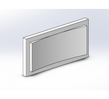 Боссаж (рустовый камень) БС-015 500х250х50 мм (1шт)