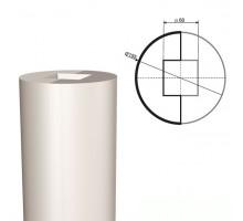Ствол колонны из пенопласта КЛ-001 500 х1000мм