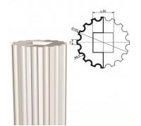 Ствол колонны из пенопласта КЛ-002 150 х1000мм