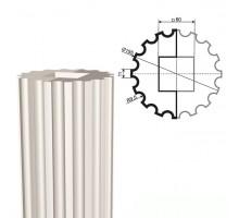 Ствол колонны из пенопласта КЛ-002 400 х1000мм