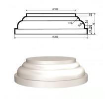 База колонны из пенопласта БКЛ-001 d15см (1шт)