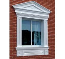 """Декор для фасада из пенопласта """"Окно №1"""" (1комплект)"""