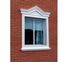 """Декор для фасада из пенопласта """"Окно №4"""" (1комплект)"""