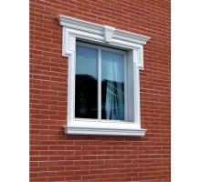 """Декор для фасада из пенопласта """"Окно №5"""" (1комплект)"""