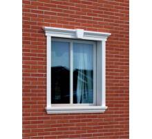 """Декор для фасада из пенопласта """"Окно №7"""" (1комплект)"""