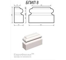 База пилястры БПИЛ-8 400х250х145