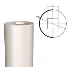 Ствол колонны из пенопласта КЛ-001 500 х1000мм (1шт)