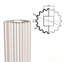 Ствол колонны из пенопласта КЛ-002 400 х1000мм (1шт)